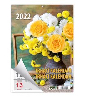 Wall calendar Týdenní trhací kalendář A5 2022
