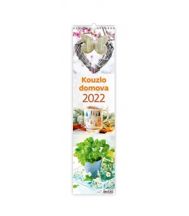 Wall calendar Kouzlo domova - vázanka 2022