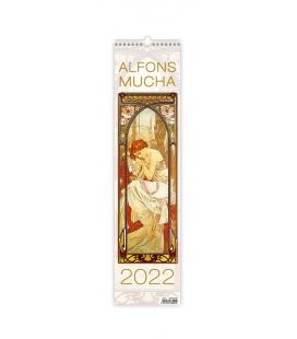 Wall calendar Alfons Mucha - vázanka 2022
