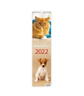Wall calendar Mazlíčci - vázanka 2022