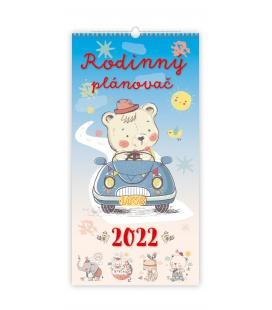 Wall calendar Rodinný plánovač 2022