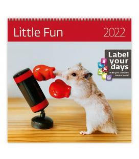 Wall calendar Little Fun 2022