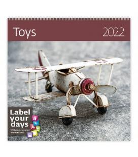 Wall calendar Toys 2022