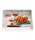 Table calendar Babiččiny recepty 2022