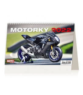 Table calendar Motorky ČR/SR 2022