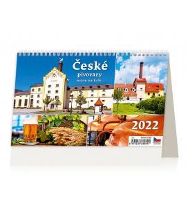 Table calendar České pivovary nejen na kole 2022