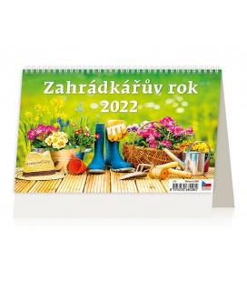 Table calendar Záhradkářův rok 2022