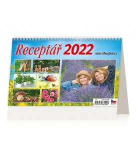 Table calendar Receptář 2022