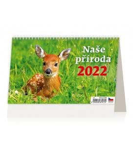Table calendar Naše příroda 2022