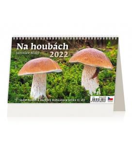 Table calendar Na houbách 2022