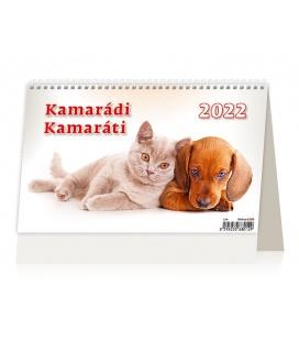 Table calendar Kamarádi/Kamaráti 2022