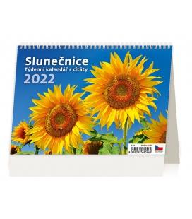 Table calendar Slunečnice 2022