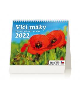 Table calendar Vlčí máky 2022
