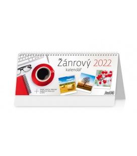 Table calendar Žánrový kalendář 2022