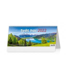 Table calendar Svět hor 2022