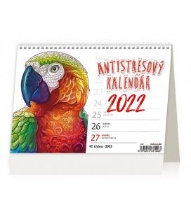 Table calendar Antistresový pracovní 2022