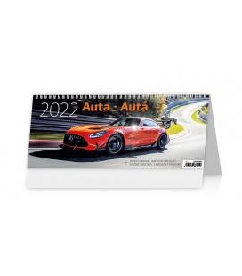 Table calendar Auta/Autá 2022