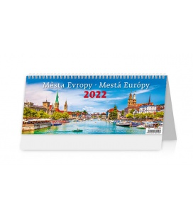 Table calendar Města Evropy/Mestá Európy 2022