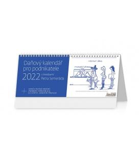 Table calendar Daňový kalendář pro podnikatele 2022
