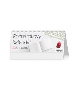 Table calendar Poznámový kalendář 2022