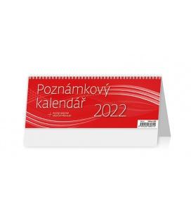 Table calendar Poznámkový kalendář OFFICE 2022