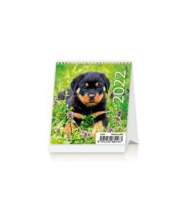 Table calendar Mini Puppies 2022