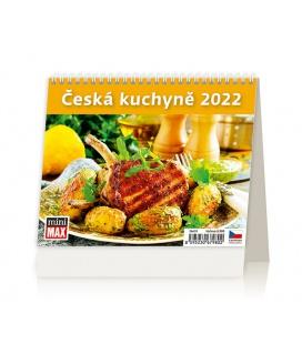 Table calendar MiniMax Česká kuchyně 2022