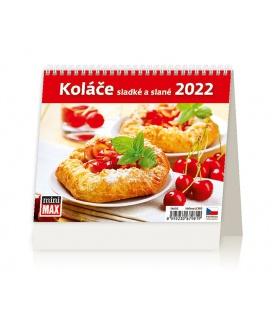 Table calendar MiniMax Koláče sladké a slané 2022