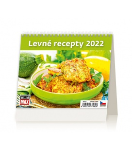 Table calendar MiniMax Levné recepty 2022