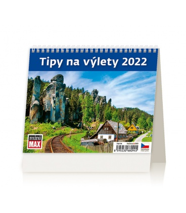 Table calendar MiniMax Tipy na výlety 2022