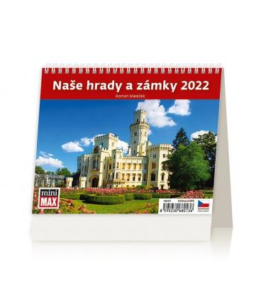 Table calendar MiniMax Naše hrady a zámky 2022