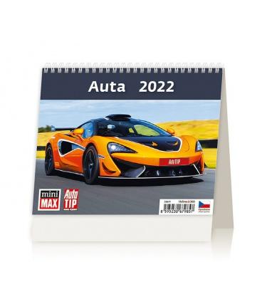 Table calendar MiniMax Auta 2022