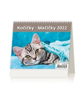 Table calendar MiniMax Kočičky/Mačičky/s kočičími jmény/ 2022