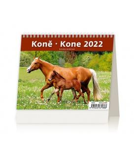 Table calendar MiniMax Koně/Kone 2022