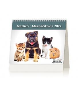 Table calendar MiniMax Mazlíčci/Maznáčikovia 2022