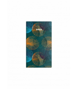 Pocket diary fortnightly - Napoli - design 6 2022