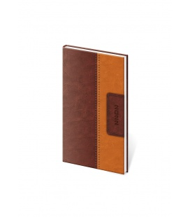 Weekly Pocket Diary Classic brown, brown 2022