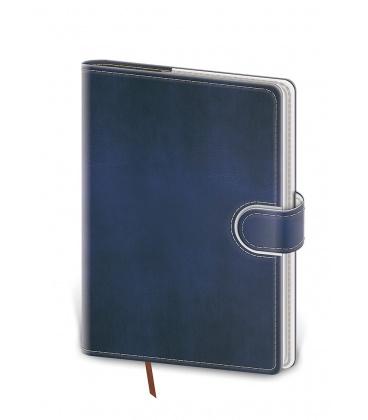 Daily Diary B6 Flip blue, white 2022