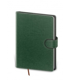 Daily Diary B6 Flip green, grey 2022