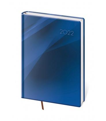 Daily Diary A5 Vario - Blue design 2022