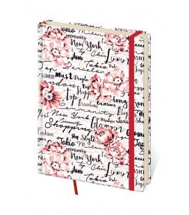 Notepad - Zápisník Vario design 7 - dotted S 2022
