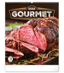 Wall calendar Gourmet 2022