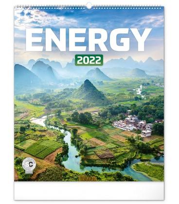 Wall calendar Energy 2022