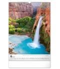 Wall calendar Aqua 2022