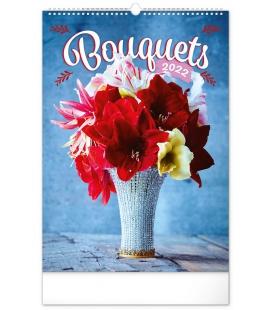 Wall calendar Bouquets 2022