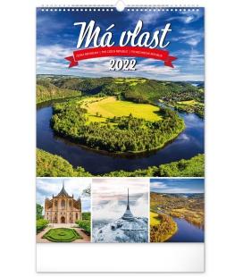 Wall calendar My Country 2022