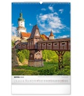 Wall calendar Castles and Chateaux 2022