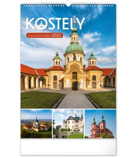 Wall calendar Churches and Places of Pilgrimage 2022