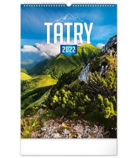 Wall calendar Tatras 2022