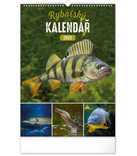 Wall calendar Fishing 2022